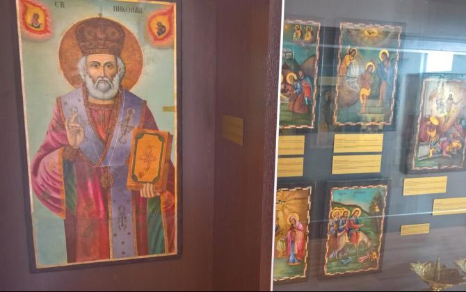 Дарения от над осем хиляди лева са събрани за реставрация на икони в Бургас